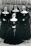 Four Sisters who pioneered the congregation in Canada